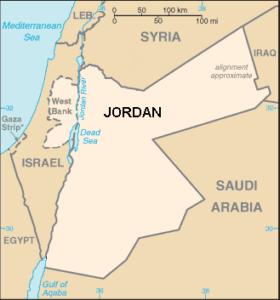 מפת ירדן בין השנים 48 - 67