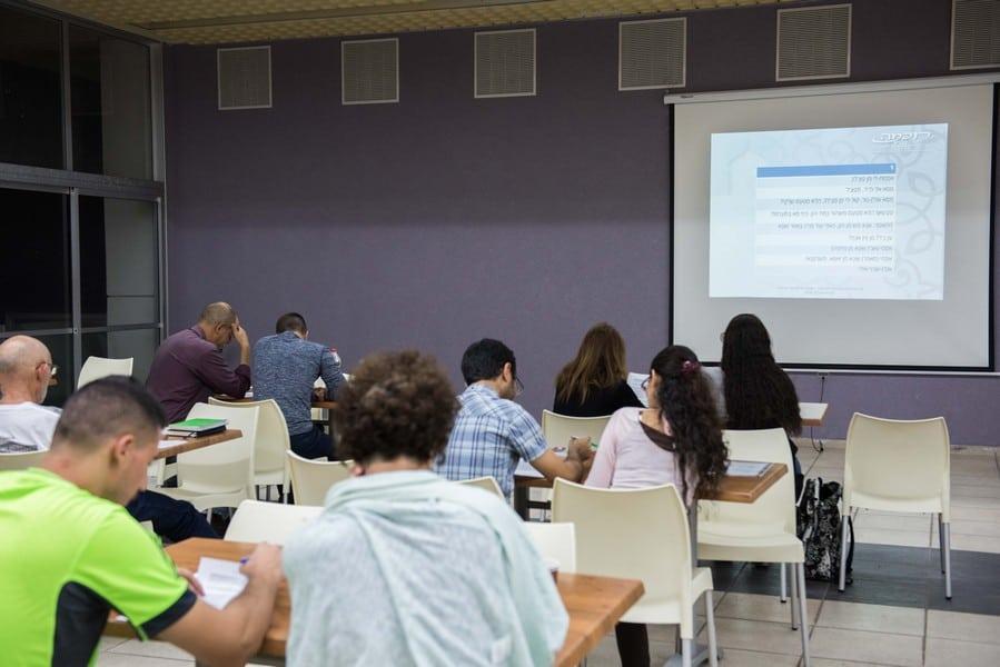 קורס ערבית מדוברת מפגש תרגול חיכמה